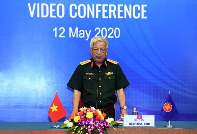 Việt Nam chủ trì Hội nghị trực tuyến quan chức quốc phòng ASEAN - ảnh 1