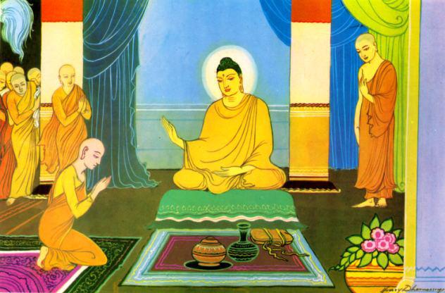 Được Đức Phật sai đi tắt đèn song có 1 ngọn đèn mãi không tắt, đệ tử kinh ngạc khi Ngài chỉ rõ lý do - Ảnh 3.