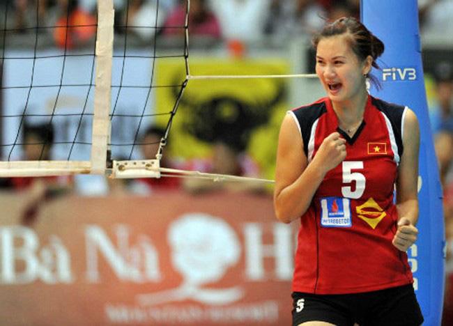 Hoa khôi bóng chuyền Kim Huệ bật khóc: Chấn thương nặng, sợ bị lãng quên - Ảnh 1.