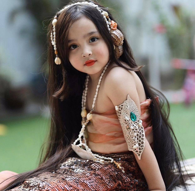 Đẳng cấp nhan sắc con gái mỹ nhân đẹp nhất Philippines: Xinh như tiên tử giáng trần, mới 4 tuổi cát xê đã vượt mặt mẹ - Ảnh 1.