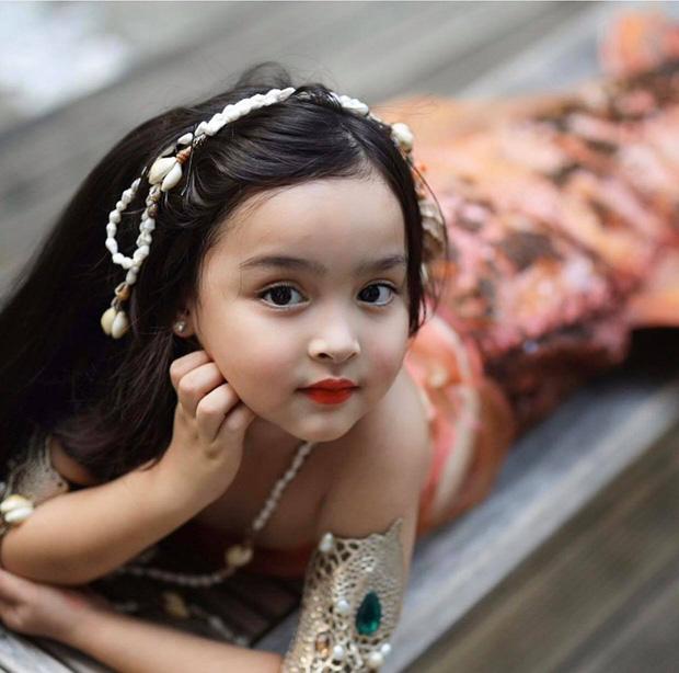 Đẳng cấp nhan sắc con gái mỹ nhân đẹp nhất Philippines: Xinh như tiên tử giáng trần, mới 4 tuổi cát xê đã vượt mặt mẹ - Ảnh 2.