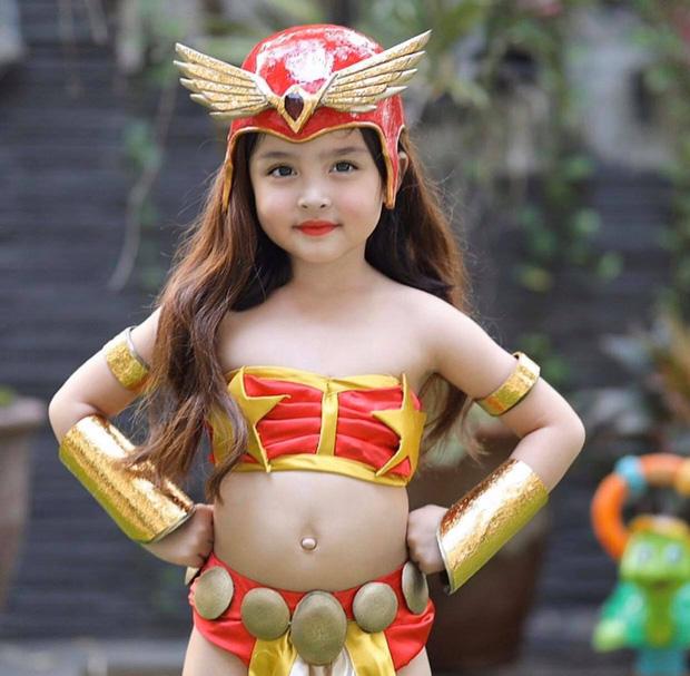 Đẳng cấp nhan sắc con gái mỹ nhân đẹp nhất Philippines: Xinh như tiên tử giáng trần, mới 4 tuổi cát xê đã vượt mặt mẹ - Ảnh 3.