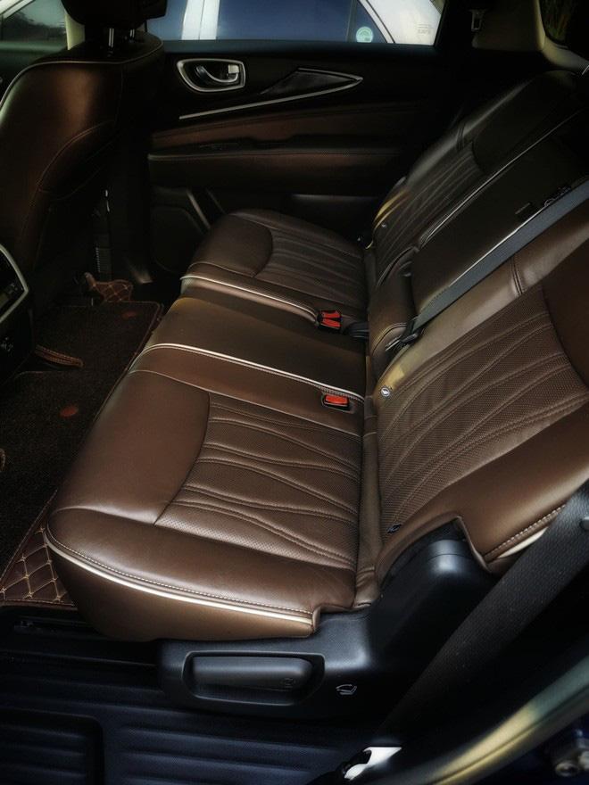 Đại gia bán SUV lỗ 1,3 tỷ để đổi Mercedes-Benz S 400, tuyên bố đây là chiếc Infiniti QX60 có nội thất độc nhất Việt Nam - Ảnh 4.