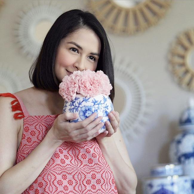 Mỹ nhân đẹp nhất Philippines đăng ảnh lộ vòng 2 lớn làm rộ nghi vấn mang thai lần 3 - Ảnh 1.
