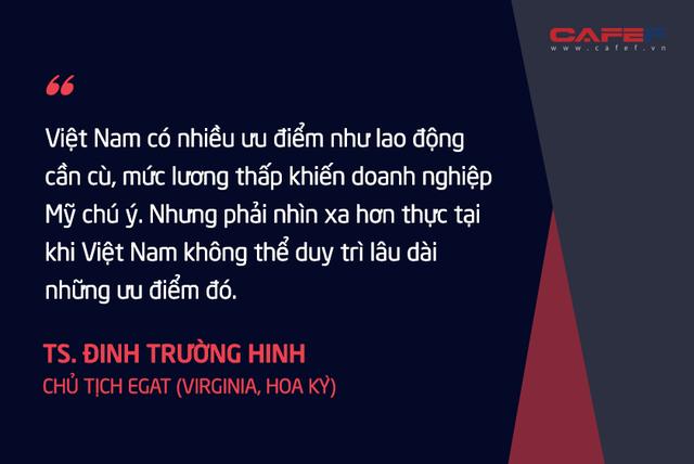 Chuyên gia kinh tế người Việt tại Mỹ: Nếu thành công, tối thiểu 3 – 5 năm các nước mới mang được phần lớn các chuỗi cung ứng rời khỏi Trung Quốc!  - Ảnh 4.