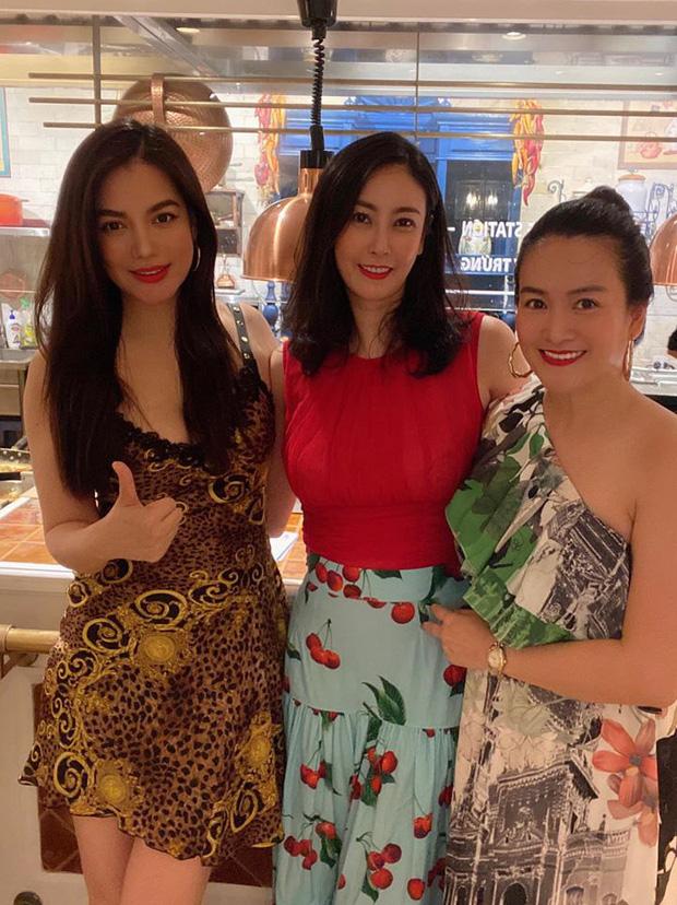 Hội bạn thân Trương Ngọc Ánh, bà xã Bình Minh tụ họp trong sinh nhật Hà Kiều Anh: tuổi 40 vẫn quyến rũ, đọ sắc khi chung khung hình - Ảnh 1.