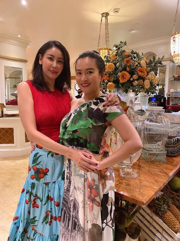 Hội bạn thân Trương Ngọc Ánh, bà xã Bình Minh tụ họp trong sinh nhật Hà Kiều Anh: tuổi 40 vẫn quyến rũ, đọ sắc khi chung khung hình - Ảnh 3.
