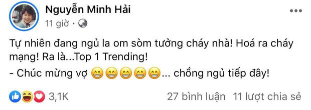 Bạn trai kể phản ứng của Hoà Minzy khi MV lên #1 trending Youtube giữa đêm, để lộ chi tiết gây chú ý sau tin đồn đã bí mật kết hôn? - Ảnh 3.