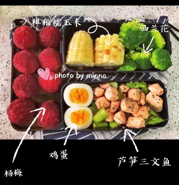 Gái xinh xứ Trung giảm 20kg trong chưa đầy 3 tháng chia sẻ thực đơn ăn trưa 7 ngày cho các nàng lười ăn kiêng - Ảnh 4.