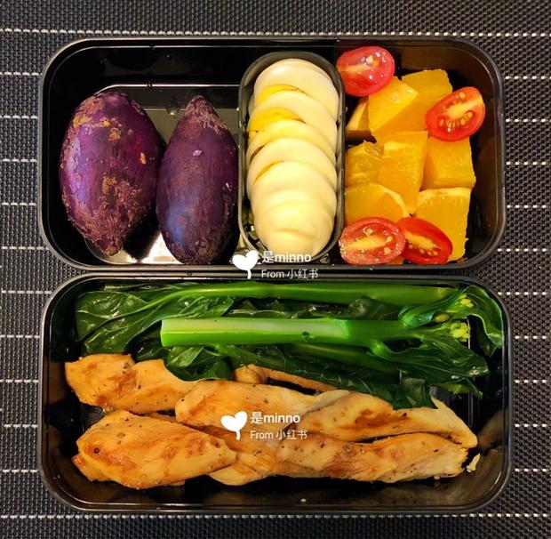 Gái xinh xứ Trung giảm 20kg trong chưa đầy 3 tháng chia sẻ thực đơn ăn trưa 7 ngày cho các nàng lười ăn kiêng - Ảnh 7.