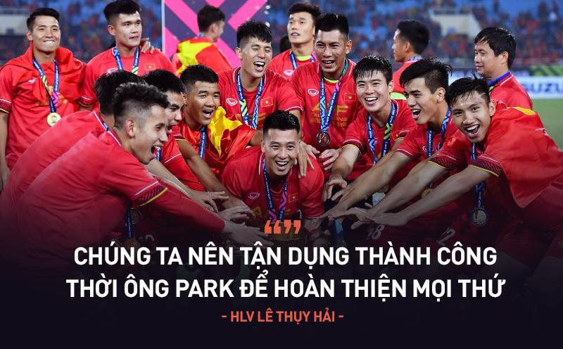 """HLV Lê Thụy Hải: """"Bóng đá Việt chưa chuyên nghiệp mà muốn làm việc chuyên nghiệp thì khó!"""""""