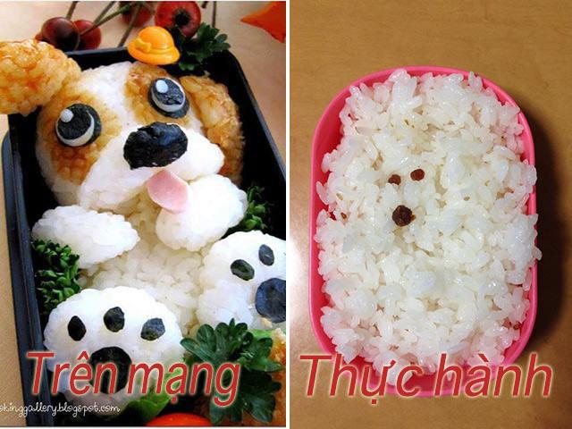 Mẹ bắt chước trên mạng làm món cơm cuộn nhưng con gào khóc không ăn, nhìn hình trang trí trong đĩa ai cũng thương em bé - Ảnh 3.