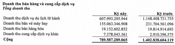 """Công ty lữ hành lớn nhất nước Vietravel lỗ 41,5 tỷ đồng trong quý 1, """"thổi bay"""" lợi nhuận làm ra của cả năm 2019 - ảnh 1"""