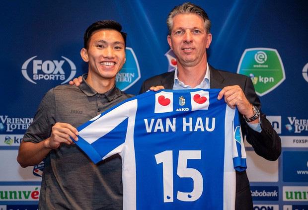 Vì sao Hà Nội chưa trả lời SC Heerenveen về Đoàn Văn Hậu? - Ảnh 1.