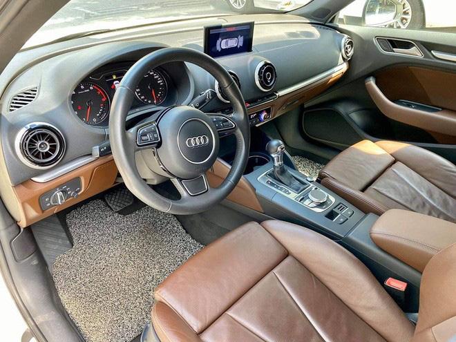 Chạy chỉ 5.800km/năm, hàng hiếm Audi A3 hatchback vẫn mất giá rẻ ngang Mazda3 2020 - Ảnh 3.