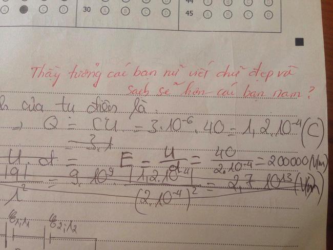 Kiểm tra Văn nhưng lại thích chêm tiếng Anh, nam sinh bị cô giáo bật lại một tràng, nhìn lời phê mà toát mồ hôi hột - Ảnh 5.