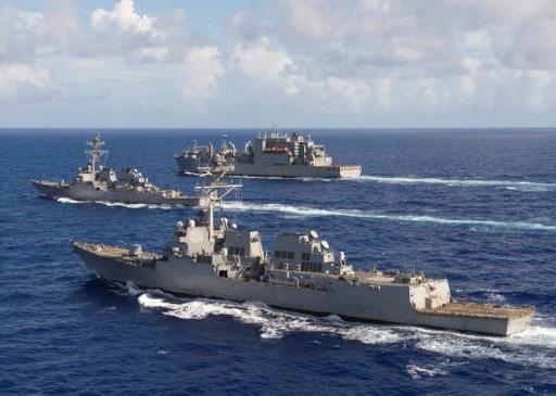 NÓNG:  5 tàu dầu Iran xông thẳng vào đội hình chiến hạm hùng hậu của Hải quân Mỹ - 72h căng thẳng bắt đầu, Nga lên tiếng khẩn - Ảnh 16.