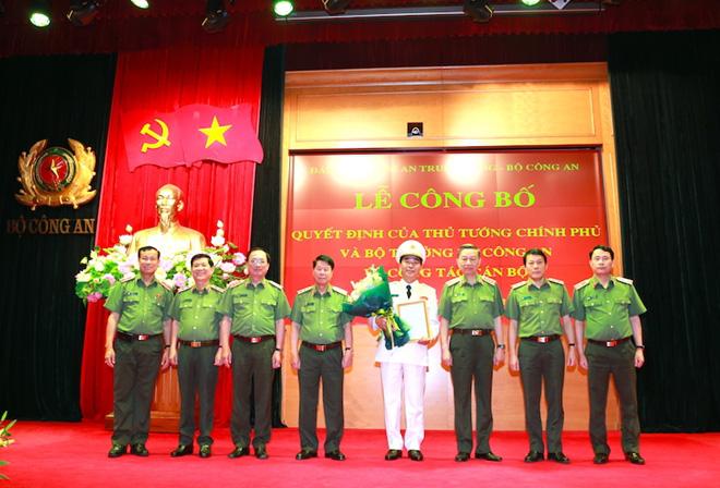 Trung tướng Lương Tam Quang làm Thủ trưởng Cơ quan An ninh điều tra, Bộ Công an - Ảnh 1.