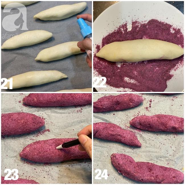 Nhìn qua ai cũng tưởng khoai lang nhưng hóa ra lại là món bánh mì thơm ngon bất ngờ và cách làm thì cực dễ - Ảnh 7.