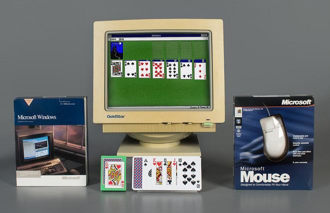 Hôm nay, trò chơi bài huyền thoại Microsoft Solitaire tròn 30 tuổi - Ảnh 1.