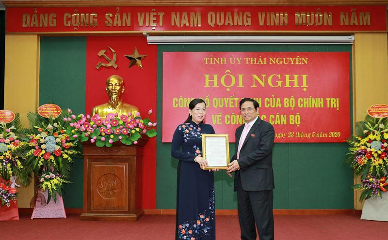Bà Nguyễn Thanh Hải làm Bí thư Thái Nguyên, thay ông Trần Quốc Tỏ làm Thứ trưởng Bộ Công an