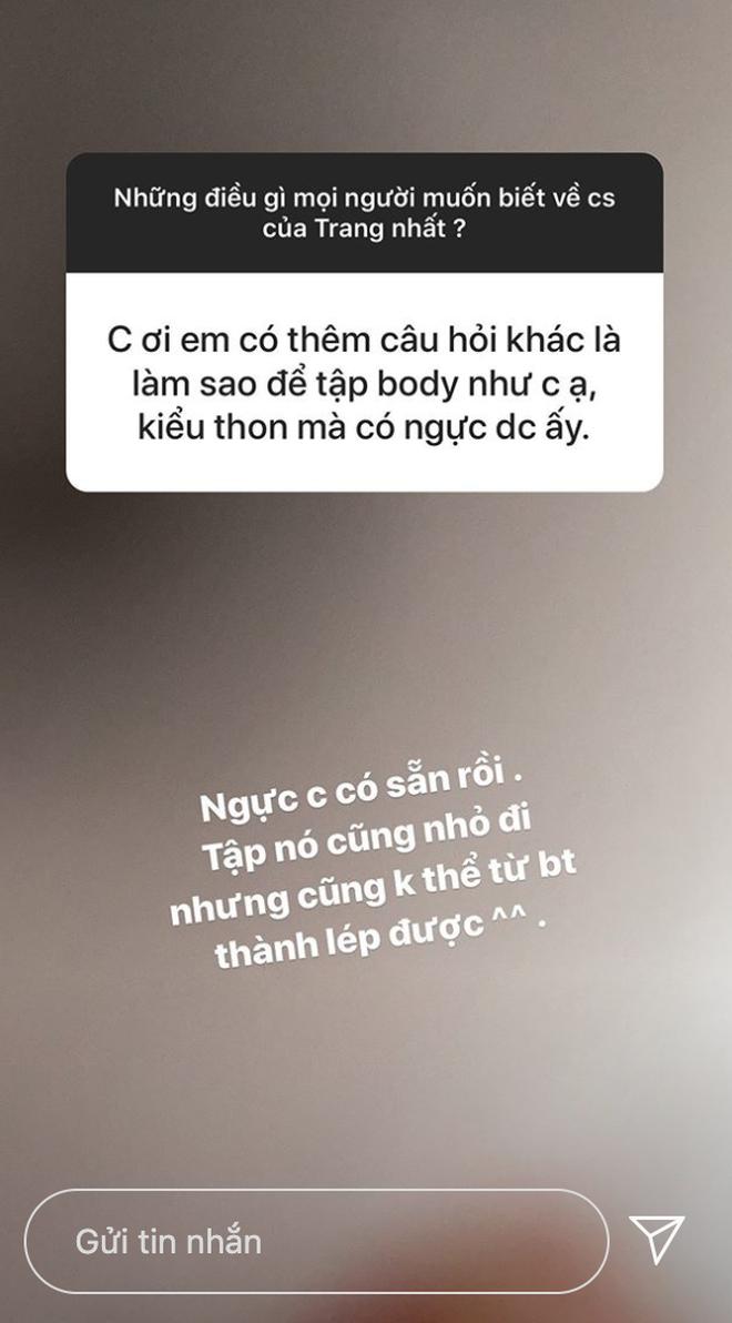 Fan hỏi Trang Anna đáp: Một lần đi bar nhiều nhất hết 140 triệu, vòng một có sẵn rồi nên chỉ sửa mũi làm răng thôi - Ảnh 8.