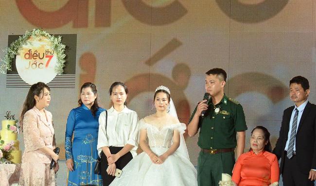 """Đến tham gia chương trình """"Chúng tôi là chiến sĩ"""", chú bộ đội bất ngờ phát hiện bản thân thành chú rể trong đám cưới bí mật - Ảnh 8."""