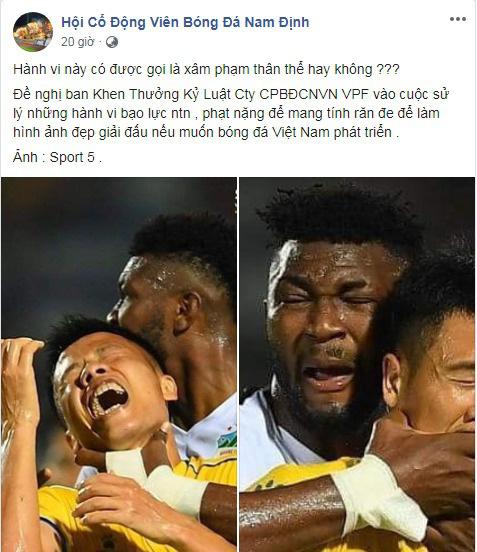 Những vụ bóp cổ dậy sóng bóng đá Việt Nam: HAGL góp mặt, Duy Mạnh gây tranh cãi gay gắt - Ảnh 5.