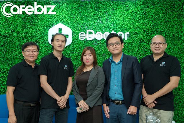 Giữa đại dịch Covid-19 vẫn gọi được vốn hơn 1 triệu USD, startup eDoctor tham vọng trở thành trợ lý sức khỏe của người dân Việt Nam - Ảnh 1.