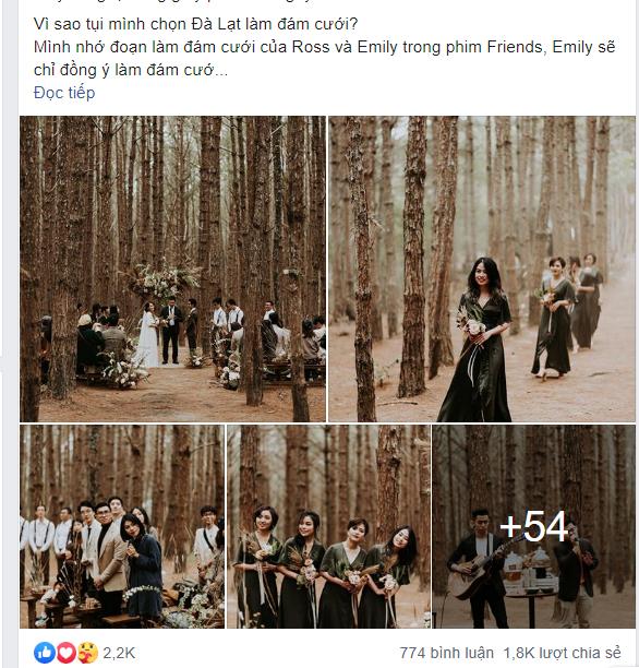 Đám cưới đặc biệt như phim của cô dâu nhà nghề ở Đà Lạt: Chỉ có 50 khách mời, không chụp trước hình cưới và thật nhiều nước mắt - Ảnh 1.