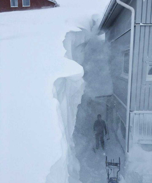 Chùm ảnh khiến cả thế giới vừa kinh ngạc vừa khâm phục những cư dân sống ở nơi có thời tiết khắc nghiệt tột cùng - Ảnh 13.