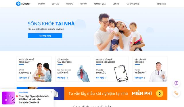 Giữa đại dịch Covid-19 vẫn gọi được vốn hơn 1 triệu USD, startup eDoctor tham vọng trở thành trợ lý sức khỏe của người dân Việt Nam - Ảnh 3.