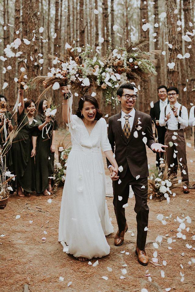 Đám cưới đặc biệt như phim của cô dâu nhà nghề ở Đà Lạt: Chỉ có 50 khách mời, không chụp trước hình cưới và thật nhiều nước mắt - Ảnh 7.