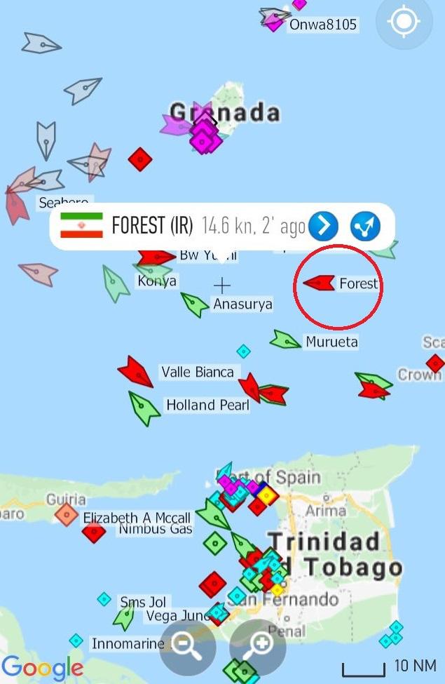 NÓNG: Đối đầu nghẹt thở, Venezuela và Iran thắng 1-0, tàu dầu Iran cắt mặt tàu đặc chủng mang cờ Mỹ - Ảnh 16.