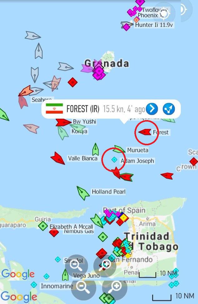 NÓNG: Đối đầu nghẹt thở, Venezuela và Iran thắng 1-0, tàu dầu Iran cắt mặt tàu đặc chủng mang cờ Mỹ - Ảnh 15.