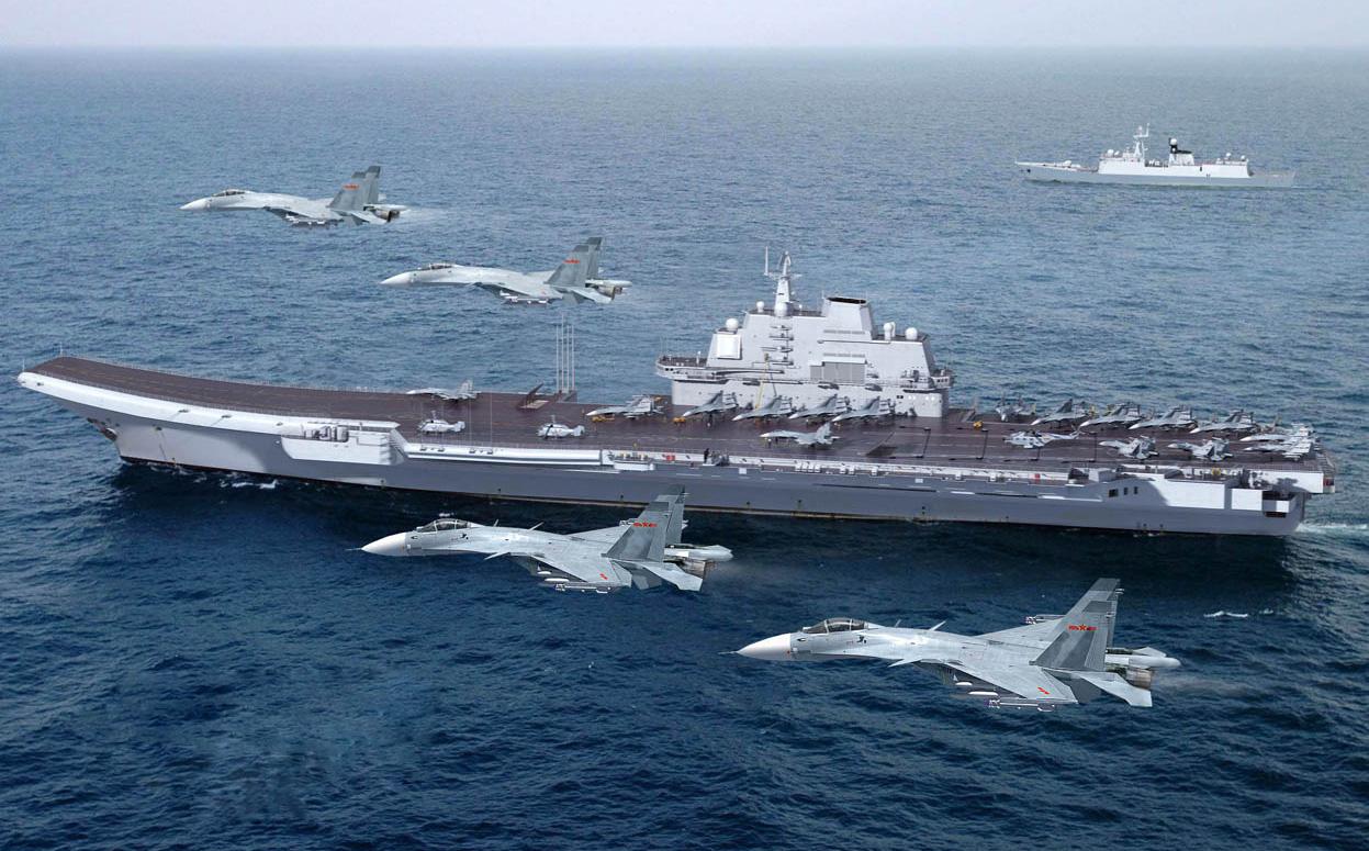 Quan chức Ấn Độ cảnh báo: Nhóm tàu sân bay của TQ tới Ấn Độ Dương chỉ là vấn đề thời gian