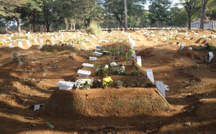 """Cứ 10 phút lại có thêm đám tang vì Covid-19 nhưng Tổng thống Brazil chỉ quan tâm đến một """"bệnh nhân"""" khác"""