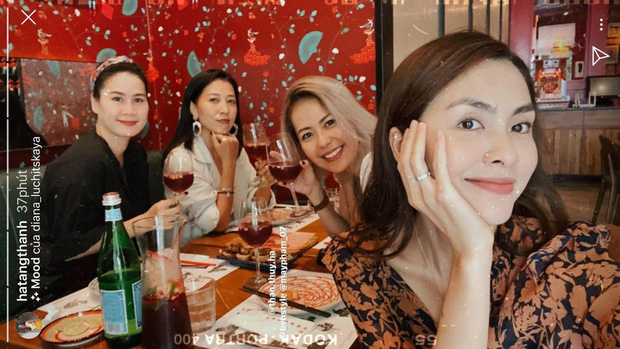 Hội bạn thân 10 năm showbiz tụ họp: Nhan sắc hậu tăng cân của Hà Tăng chiếm spotlight, càng nhìn càng hút hồn - Ảnh 1.