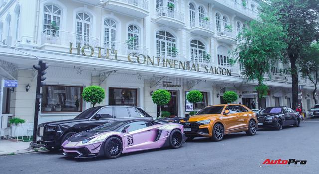 Dàn siêu xe, siêu sang trị giá gần 100 tỷ đồng tụ họp gây náo loại Sài Gòn - Ảnh 1.