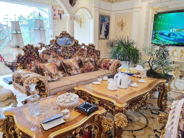 Sau biệt thự dát vàng mọi ngõ ngách, đại gia Hải Dương sắp ra mắt lâu đài 10 triệu USD - Ảnh 4.