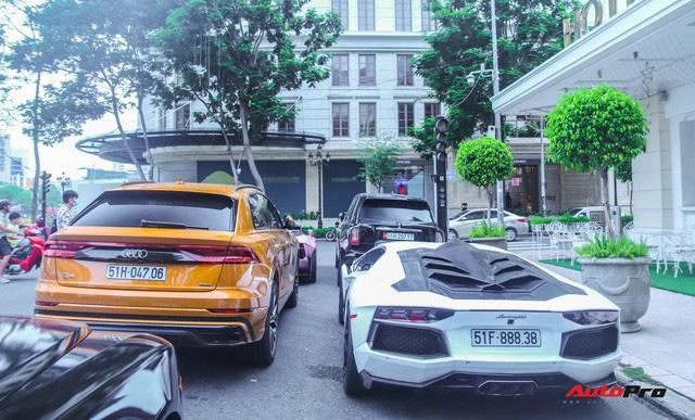 Dàn siêu xe, siêu sang trị giá gần 100 tỷ đồng tụ họp gây náo loại Sài Gòn - Ảnh 8.