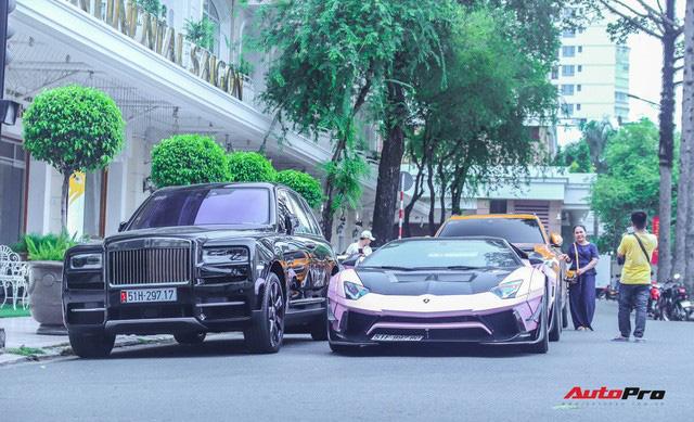 Dàn siêu xe, siêu sang trị giá gần 100 tỷ đồng tụ họp gây náo loại Sài Gòn - Ảnh 9.