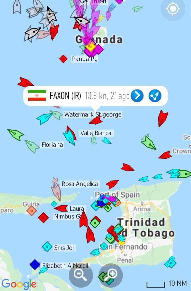 Tàu dầu Iran dường như vừa thoát khỏi nanh vuốt khu trục hạm Mỹ, thần tốc tới Venezuela - KQ Nga bất ngờ dồn dập xuất kích ở Syria sau nhiều tháng - Ảnh 1.