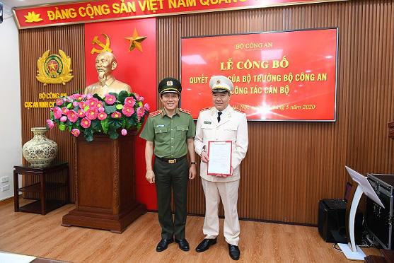 Trung tướng Nguyễn Khắc Khanh thôi giữ chức Cục trưởng Cục An ninh chính trị nội bộ, Bộ Công an - Ảnh 1.