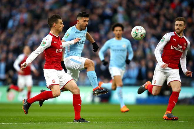 Ngoại hạng Anh tái khởi động ngày 17/6, Man City và Arsenal đá mở màn - Ảnh 1.