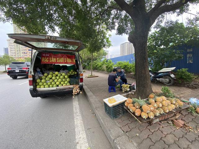 Hoa quả siêu rẻ tràn vỉa hè Hà Nội - Ảnh 9.