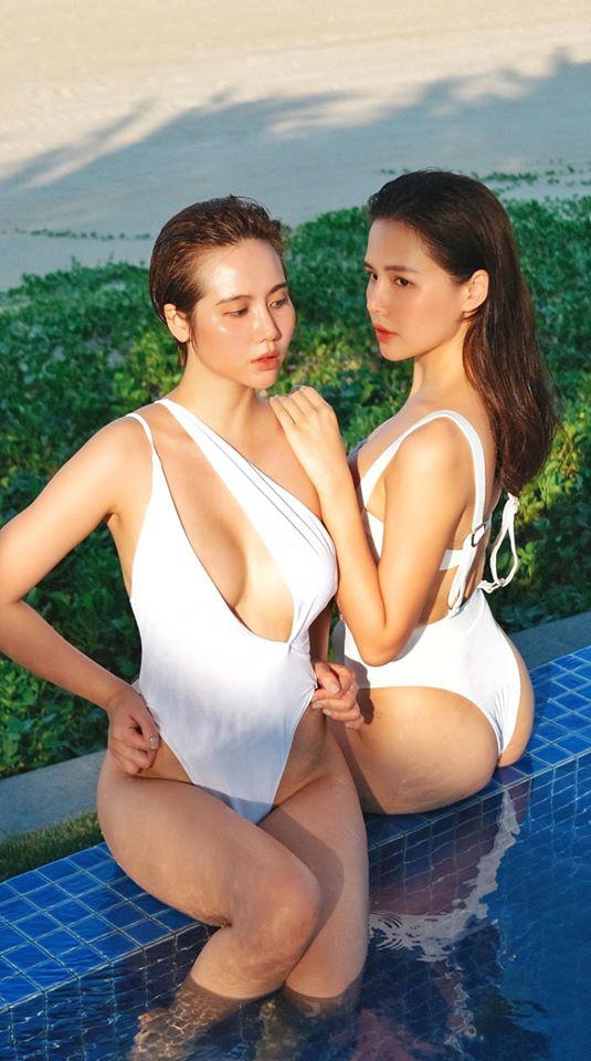 Phanh Lee và Huyền Lizzie kỷ niệm 7 năm tình bạn bằng bộ ảnh cực nóng bỏng - Ảnh 5.