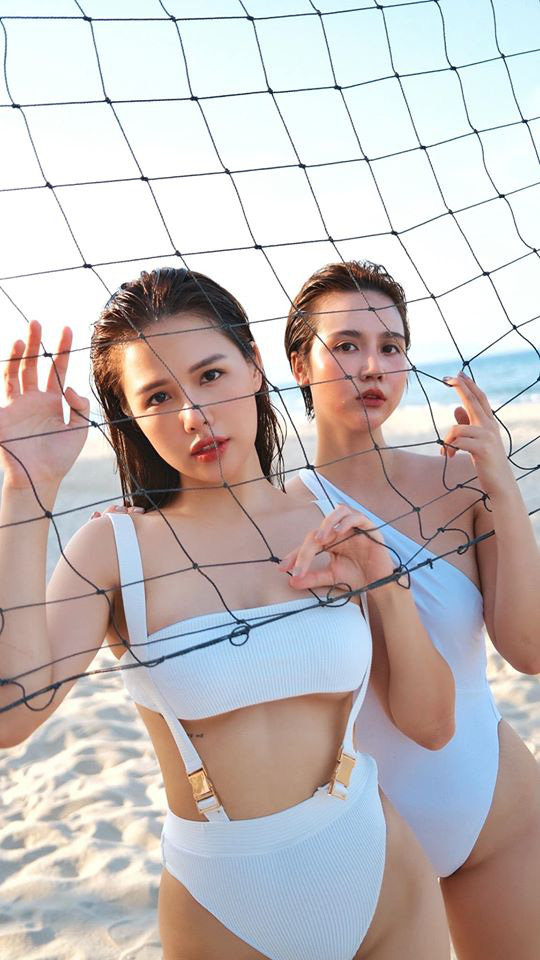 Phanh Lee và Huyền Lizzie kỷ niệm 7 năm tình bạn bằng bộ ảnh cực nóng bỏng - Ảnh 3.
