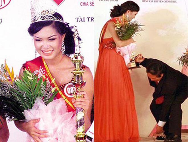 """Hoa hậu chiều cao """"khủng"""" nhưng xui xẻo nhất Việt Nam giờ ra sao? - Ảnh 1."""