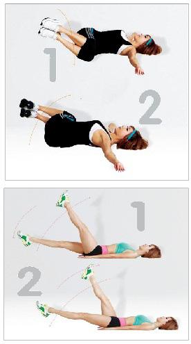 2 bài tập giảm mỡ bụng trước khi ngủ - Ảnh 1.